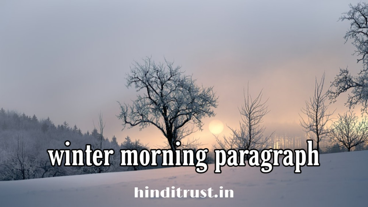 Winter Morning Paragraph in Bengali